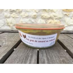 Foie gras de canard au naturel